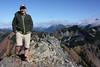 Seth atop Kendall Peak.