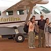 Suzanne Danielle Steve and Benat Lewa airstrip