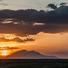 Sunset over Amboselli, Amboseli National Park, Kenya