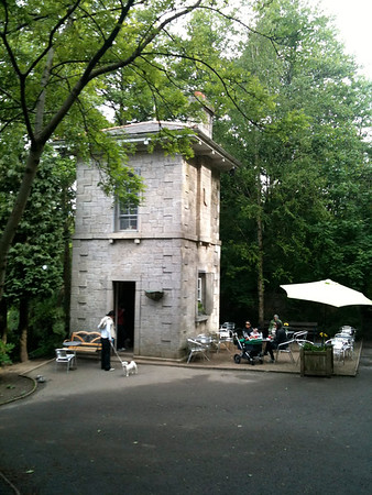The old Killiney Hill Tea Room shot with my Iphone in 2011.
