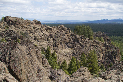 Klamath County Badlands