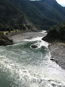 The Mighty Klamath below Ishi Pishi Falls