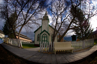 Church in Fort Steele