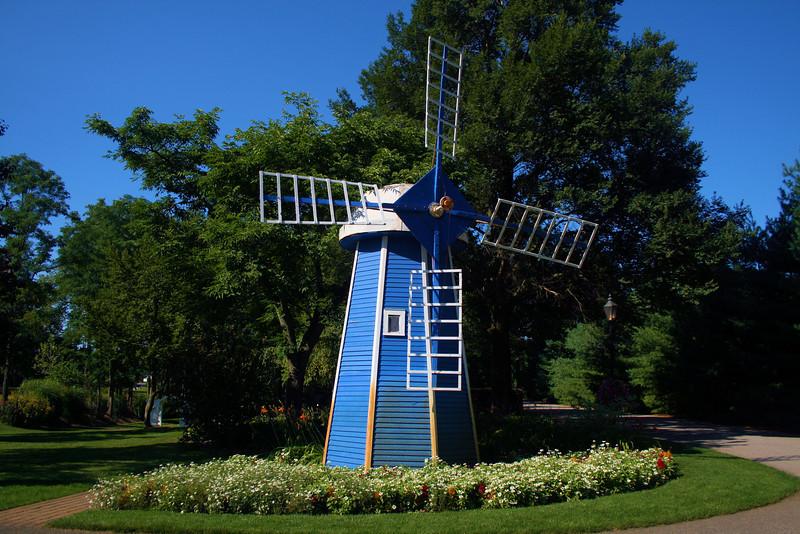 The Krider Garden windmill