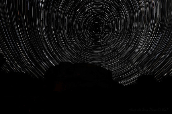 Pompeys Pillar Star Trails-1