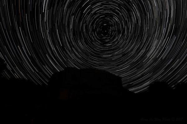 Pompeys Pillar Star Trails-1