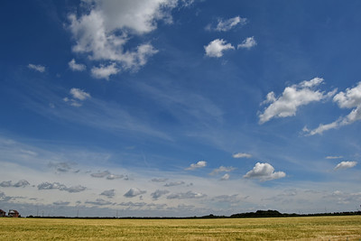Incredible skyscape looking toward Waddington