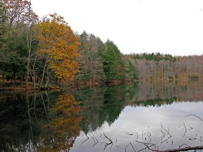 Lac Gale, Bromont, Quebec, Canada