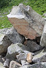 I want this granite boulder for my garden!  Who's going to help me carry it down?