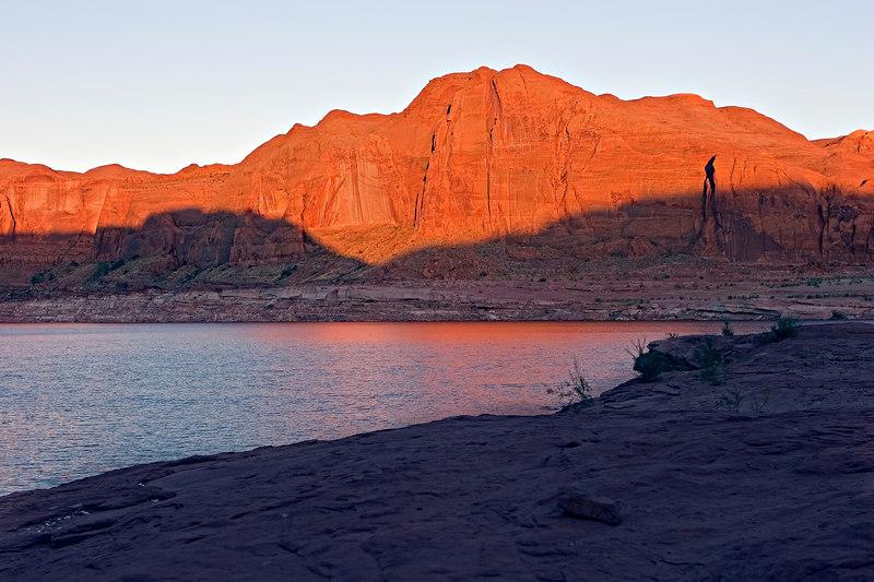 Night 1 campsite - Mouth of the Escalante River