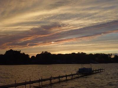 Sunset @ Fisher Lake