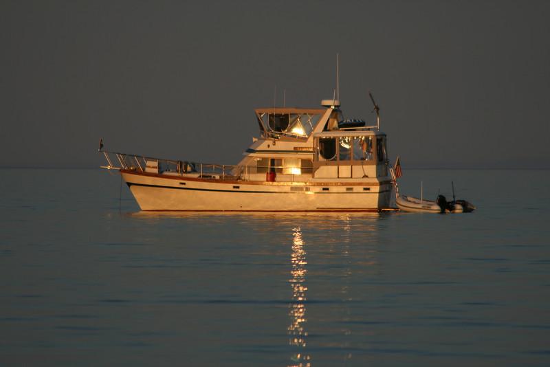 Cruising Lake Superior.