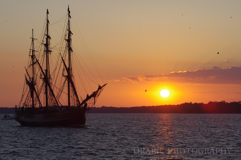 HMS Bounty in Presque Isle Bay