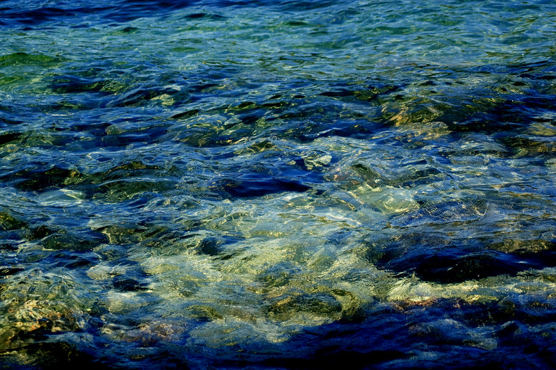 Blue Green Water