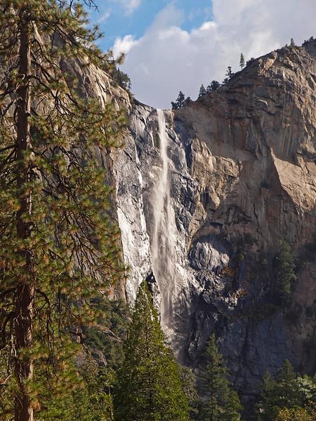 Bridelveil Falls in Yosemite Valley - 22 Oct 2010