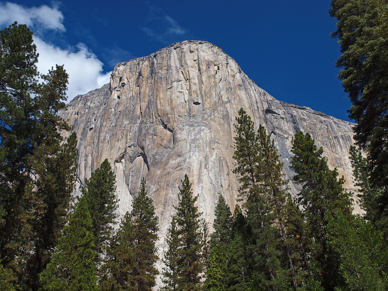 The Face of El Capitan in Yosemite Valley - 22 Oct 2010