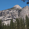 Royal Arches, Washington Column and North Dome in Yosemite Valley - 10 Apr 2011