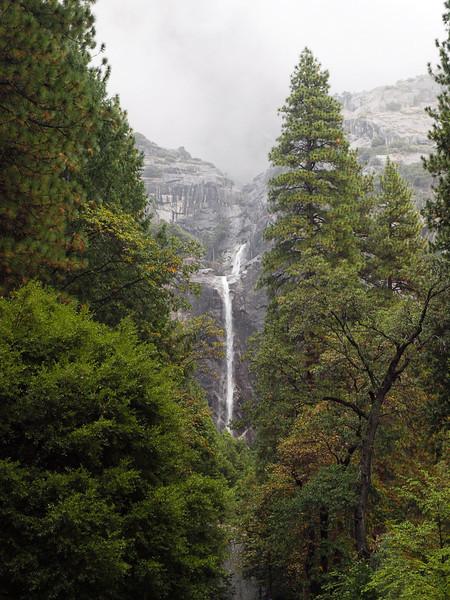 Lower Yosemite Falls in Yosemite Valley - 23 Oct 2010