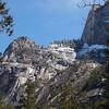 North Edge of Half Dome in Yosemite Valley - 10 Apr 2011