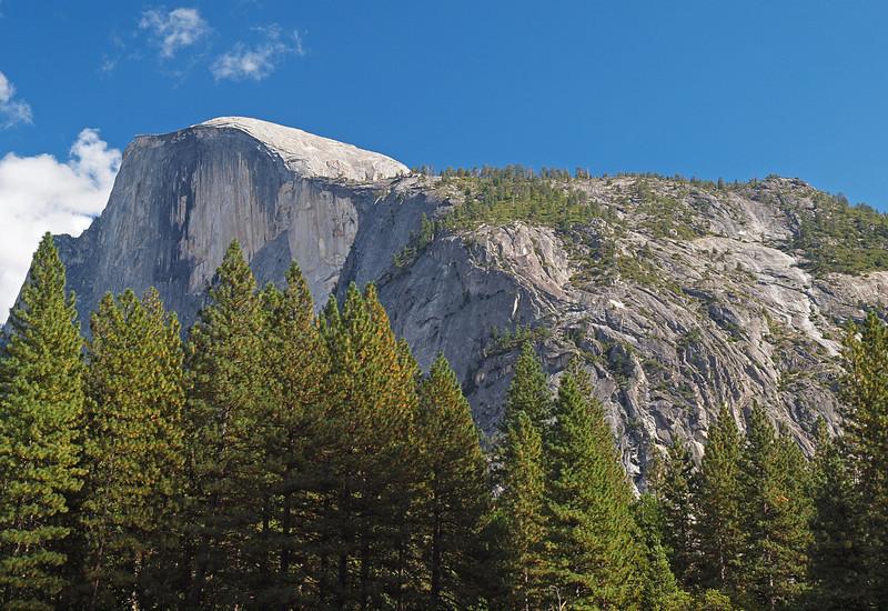 Half Dome in Yosemite Valley - 22 Oct 2010
