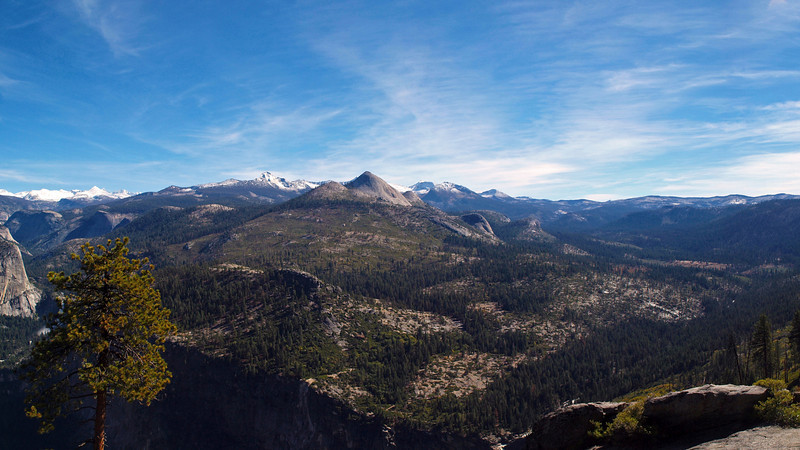 View of Mount Starr King from Washburn Point in Yosemite Valley - 25 Oct 2010
