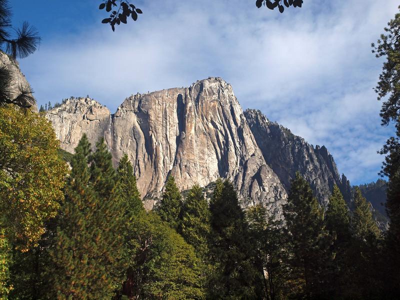 Arrowhead Spire in Yosemite Valley - 22 Oct 2010