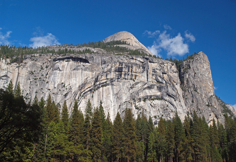 Royal Arches, Washington Column and North Dome in Yosemite Valley - 22 Oct 2010