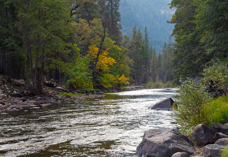 Merced River in Yosemite Valley - 22 Oct 2010