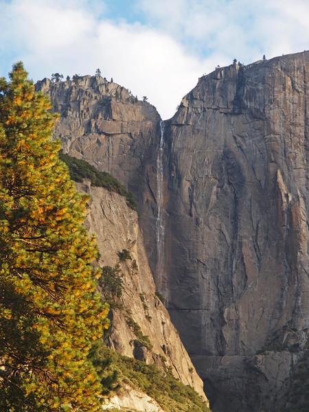 Upper Yosemite Falls - 22 Oct 2010