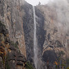 Bridalveil Falls in Yosemite Valley - 23 Oct 2010