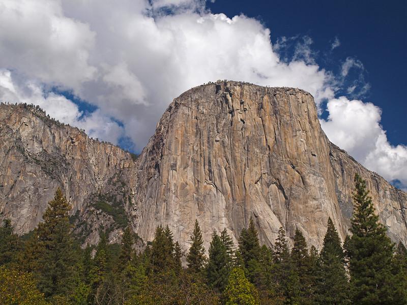 El Capitan in Yosemite Valley - 22 Oct 2010