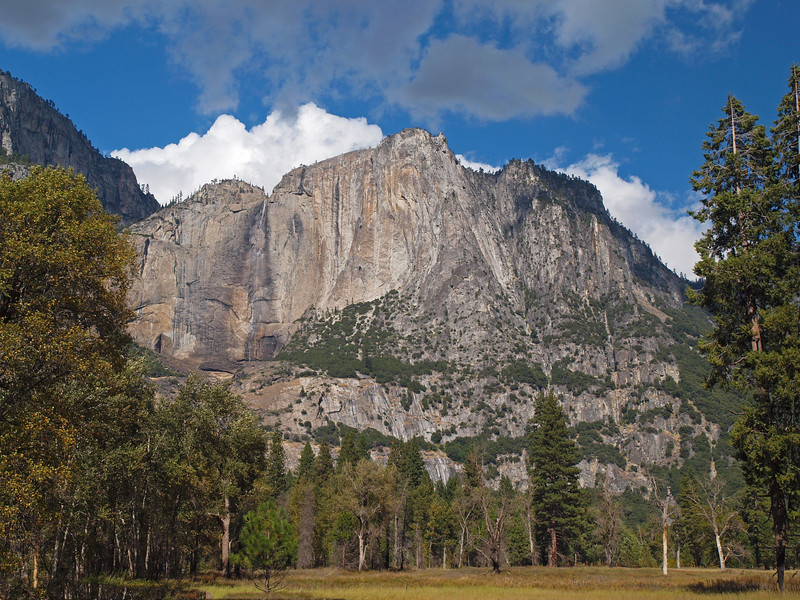 Yosemite Falls and Arrowhead Spire - 22 Oct 2010