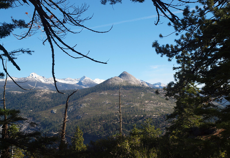View of Mount Starr King from the Glacier Point trail - 25 Oct 2010