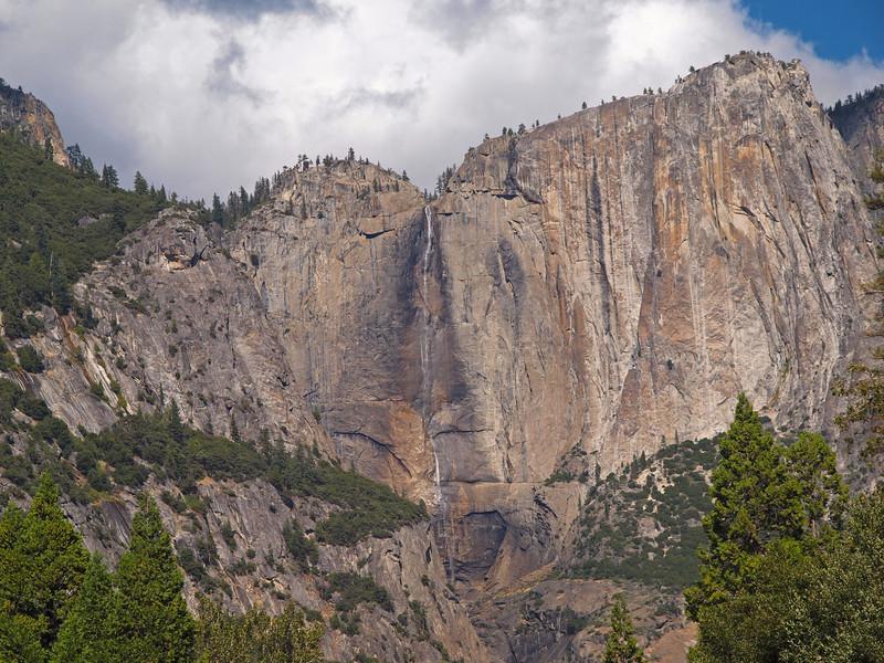 Upper Yosemite Falls and Arrowhead Spire - 22 Oct 2010