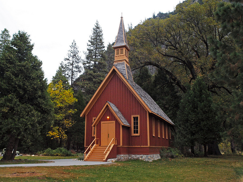 The Chapel in Yosemite Valley - 22 Oct 2010