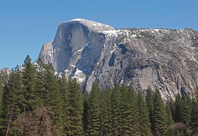 Half Dome in Yosemite Valley - 10 Apr 2011