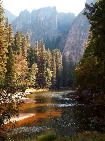 Merced River in Yosemite Valley - 22 Oct 2010