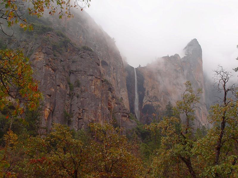 Bridalveil Falls in Yosemite Valley - 23 Oct 2010