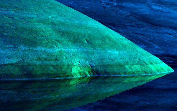 LP rock blue 7 25x 11 5