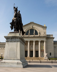 Art Museum and Saint Louis 8x10