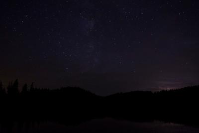 Csillagos este a Pádis-fensíkon