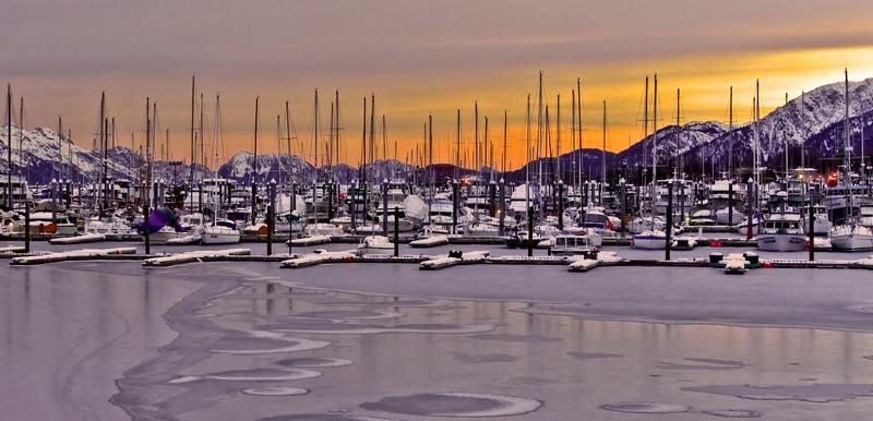 Seward Harbor,Alaska. #23.035.