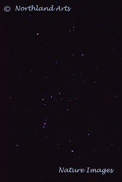 """Orion """"The Hunter"""". View from Turnagain Arm, Alaska. #320.034."""