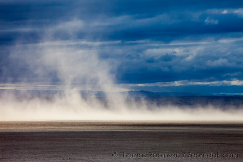 Alvord Dust Storm