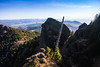 Atop Angora Peak