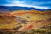 Painted Hills Oregon Overlook