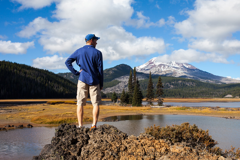 Sparks Lake Portrait