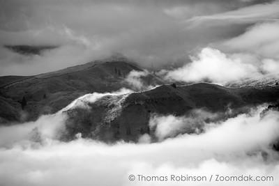Wenatchee Hills Monochrome