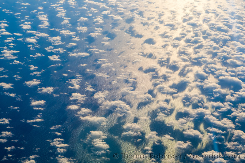 Pacific Ocean and Clouds