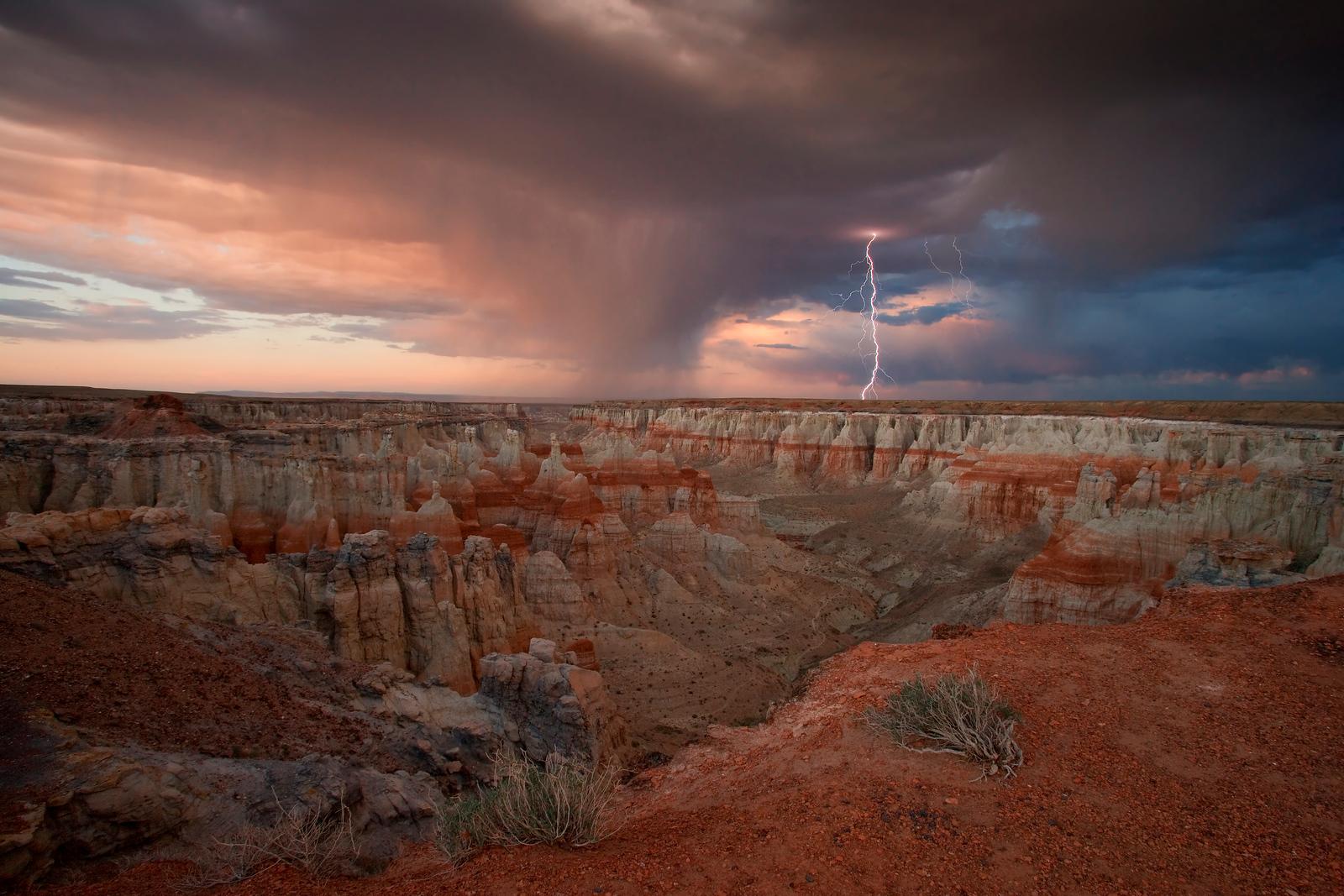 Lightning Coal  Mine Canyon, Third Mesa, Arizona